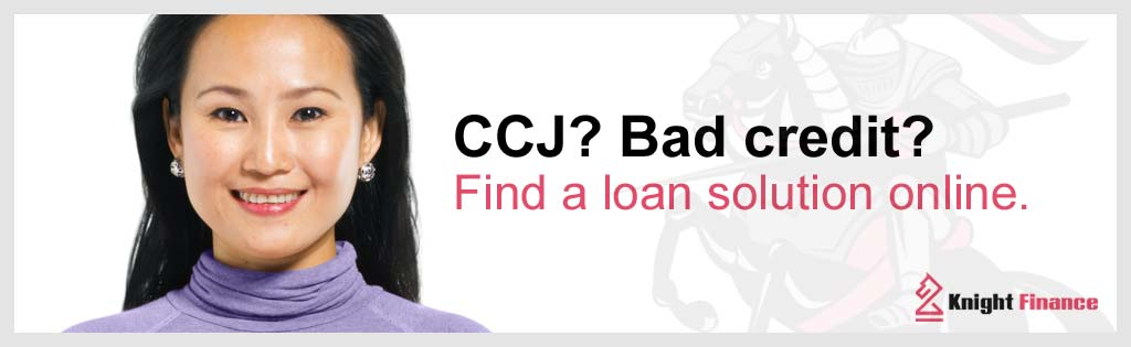 getting a loan with a CCJ and bad credit